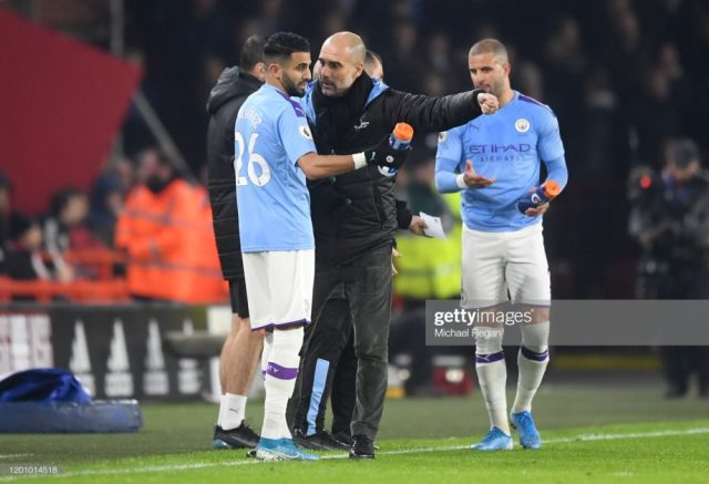 Pep Guardiola worried as lesser fans turned up during Fulham match 1