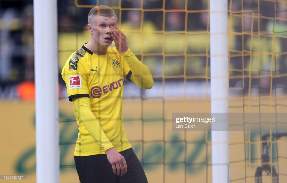 Am not yet 100% fit - Dortmund scoring machine, Erling Haaland