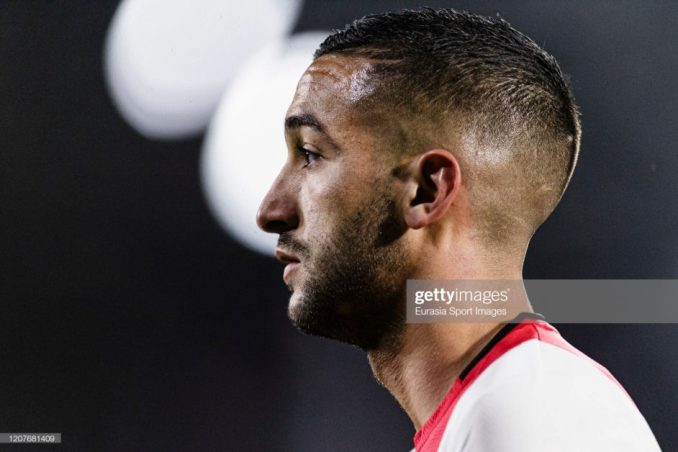 Blue Hakim; Ziyech pens downs 5-year Chelsea contract