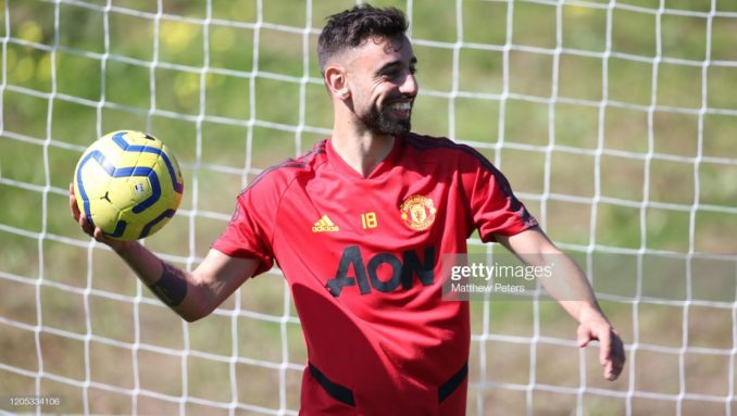 Bruno Fernandes has adapted as if he has been here for 2-years - Diego Dalot 1