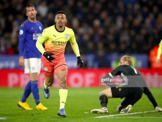 Man City 7 points clear Foxes as Gabriel Jesus came off bench to steal the game