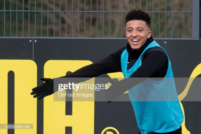 We won't repeat our mistakes, Jadon Sancho is staying - Watze