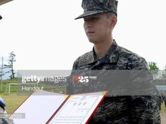 Spurs winger Son Heun min awarded best shooter as he completes Military Service