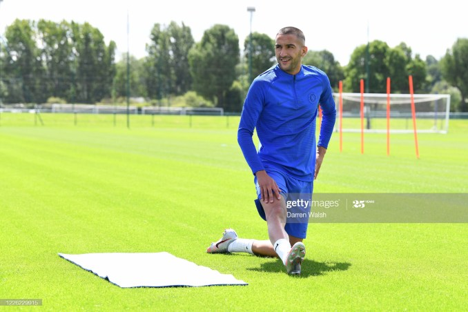 They always said physically I am not ready and stuff like that - Hakim Ziyech 1