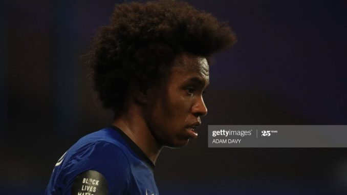 Transfer blow for Arsenal as Chelsea prepare 2 year Willian extension deal