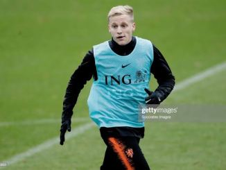 Confirmed: Ajax will accept Man United's €40M + add ons bid for Van de Beek amidst Tottenhham late hour hijack attempt.
