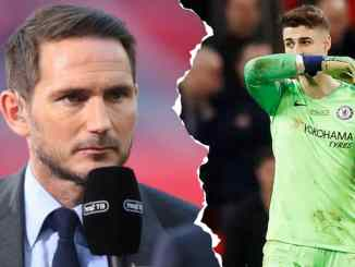 Lampard Opens Up On Kepa Future Amid Growing Concerns Of Lack Of Game Time For The Spaniard This Season