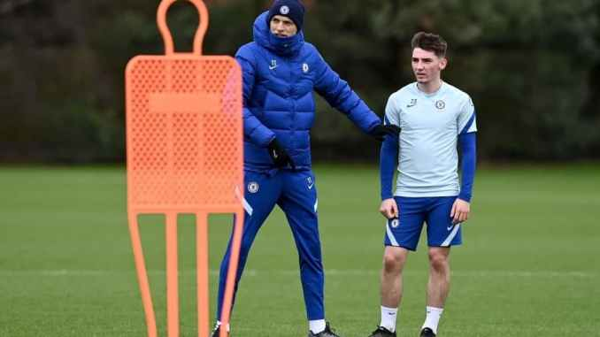 Just In Thomas Tuchel Confirms Billy Gilmour Fate Amid Exit Link