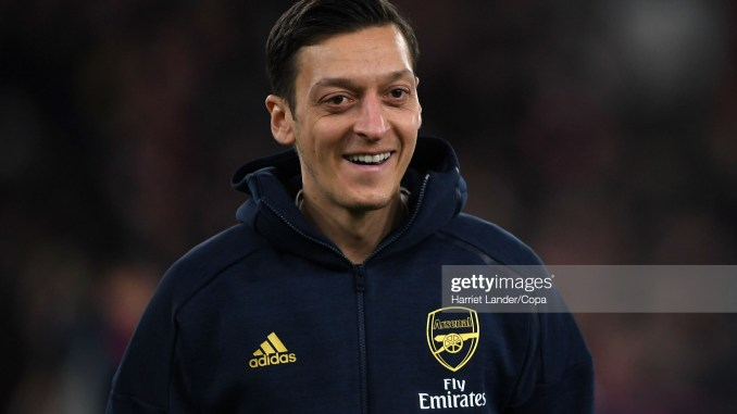Ozil finally in talks on future after offer tips on his M10 brand