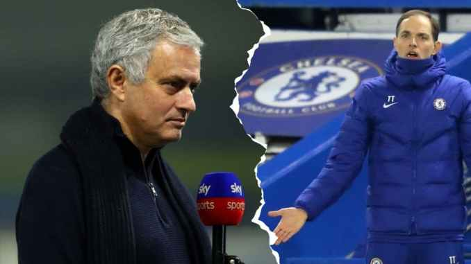 Jose Mourinho Takes Jab At Thomas Tuchel Ahead Of Derby Clash
