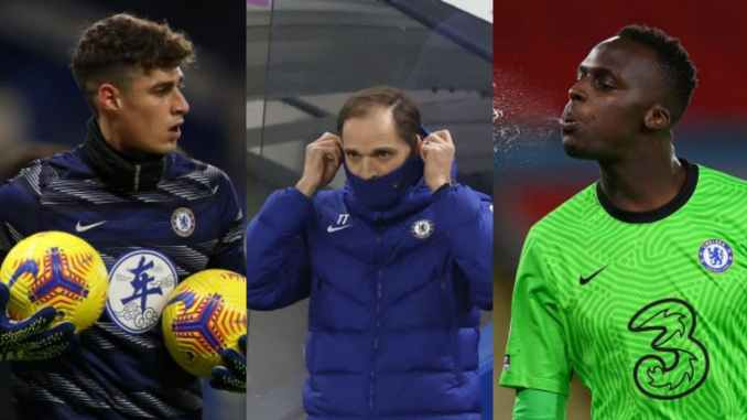 Thomas Tuchel Confirms Chelsea First Choice Keeper After Dropping Mendy For Kepa On Magpies Clash