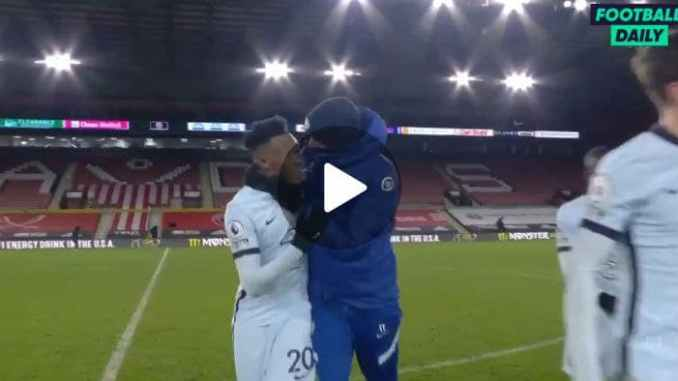 Video See What Hudson-Odoi and Thomas Tuchel Was Caught Doing After Sheffield United Victory