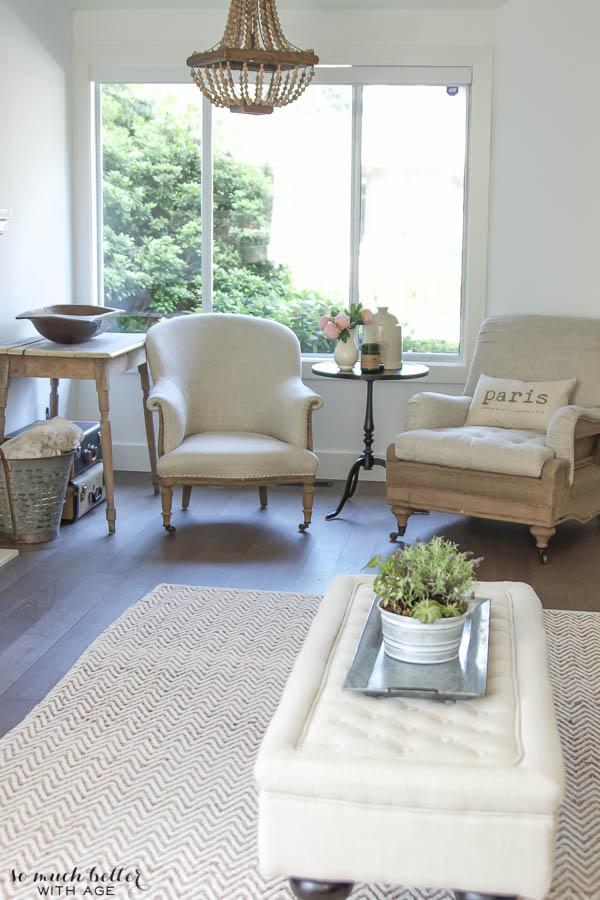 Unique Living Room Decorating Ideas: Living Room Tour + A Unique Gift
