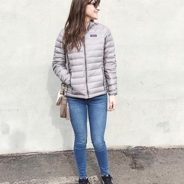 I finally broke down and bought this patagonia down jacketandhellip