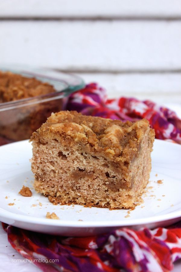 Vegan Coffee Cake | So Much Yum
