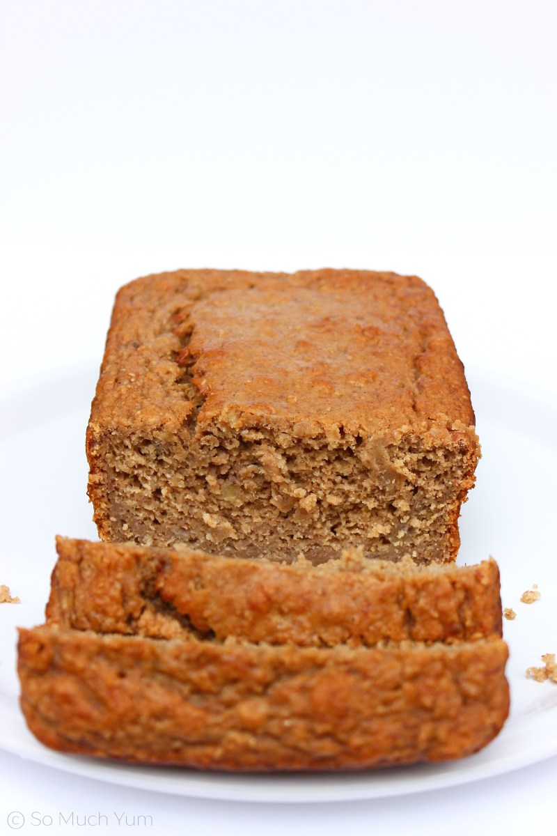 Vegan Peanut Butter Banana Bread