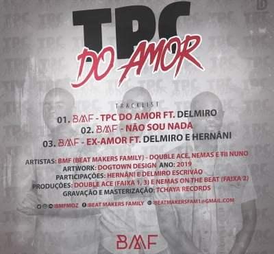 BMF - TPC do Amor Contra Capa