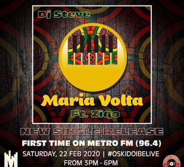 Dj Steve ft Ziqo - Volta Maria