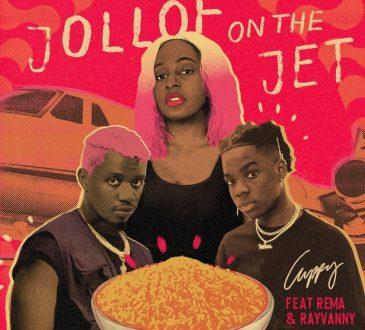Cuppy Ft. Rema & Rayvanny - Jollof On The Jet