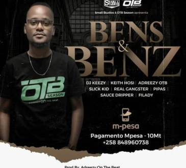 Adreezy On The Beat ft DJ Keezy, Keith Hosi, Slick Kid, Real Gangster, Pipas, Dripper & Filady - Bens And Benz