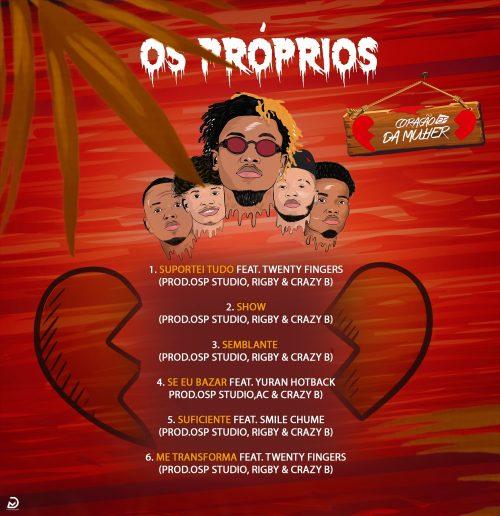 Os Próprios - Coração da Mulher EP Back
