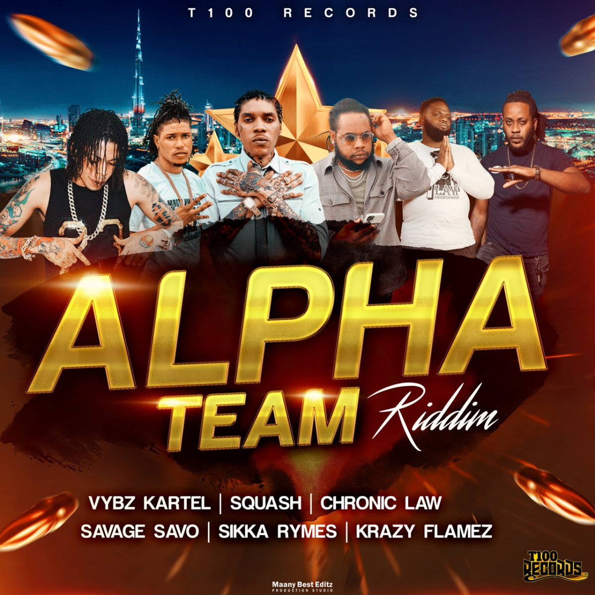 Alpha Team Riddim (Cover)