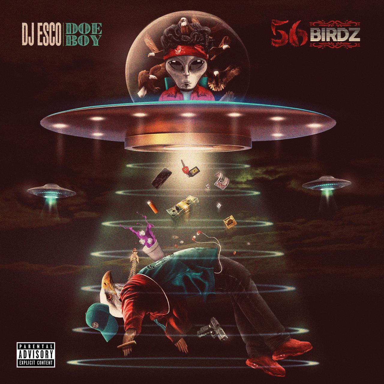 DJ Esco and Doe Boy - 56 Birdz (Cover)