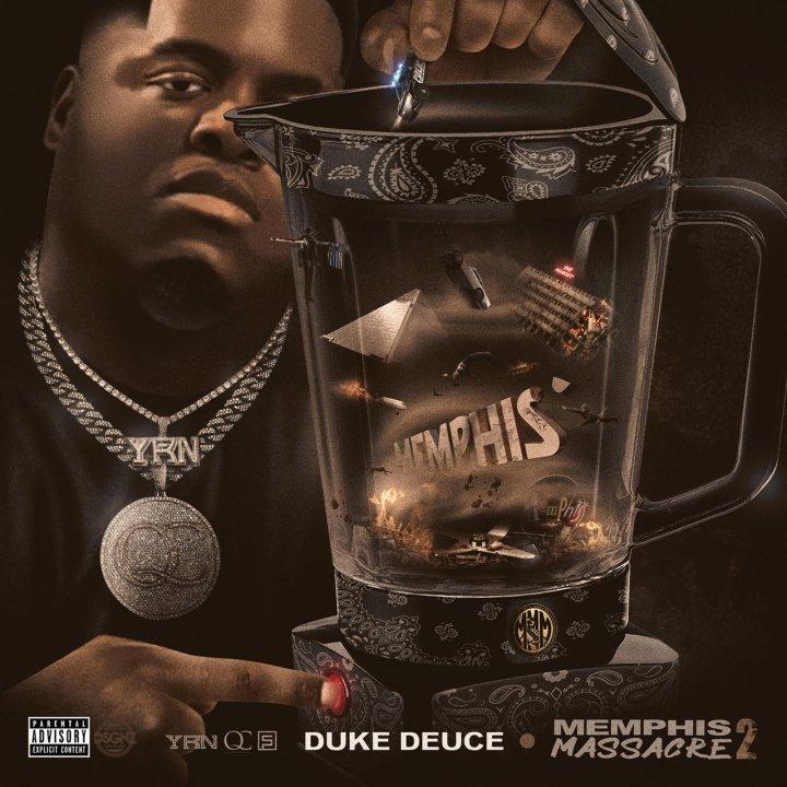 Duke Deuce - Memphis Massacre 2 (Cover)