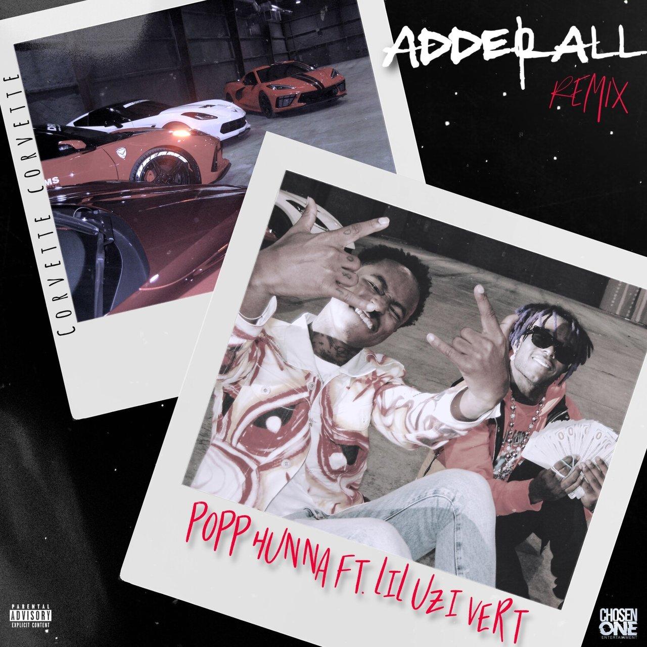 Popp Hunna - Adderall (Corvette Corvette) (Remix) (ft. Lil Uzi Vert) (Cover)