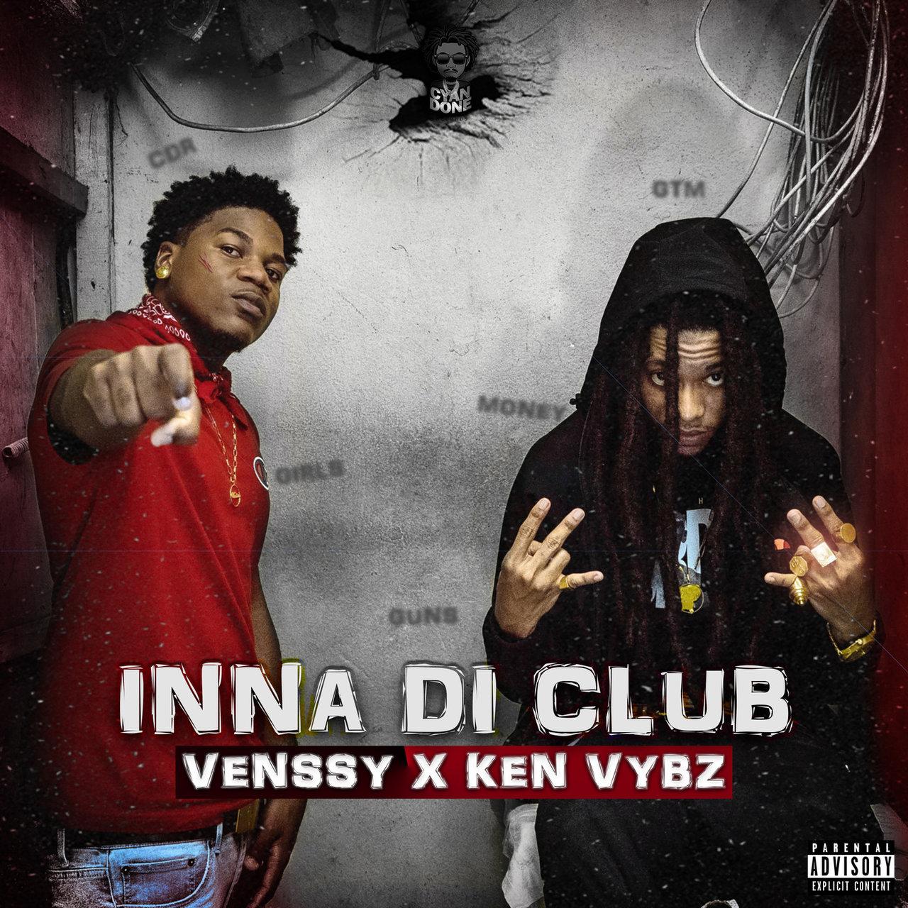 Venssy - Inna Di Club (ft. Ken Vybz) (Cover)