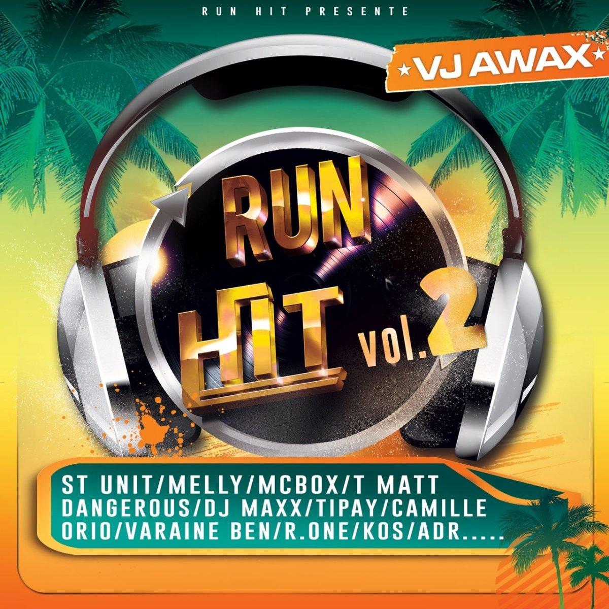 VJ Awax - Run Hit Vol. 2 (Cover)