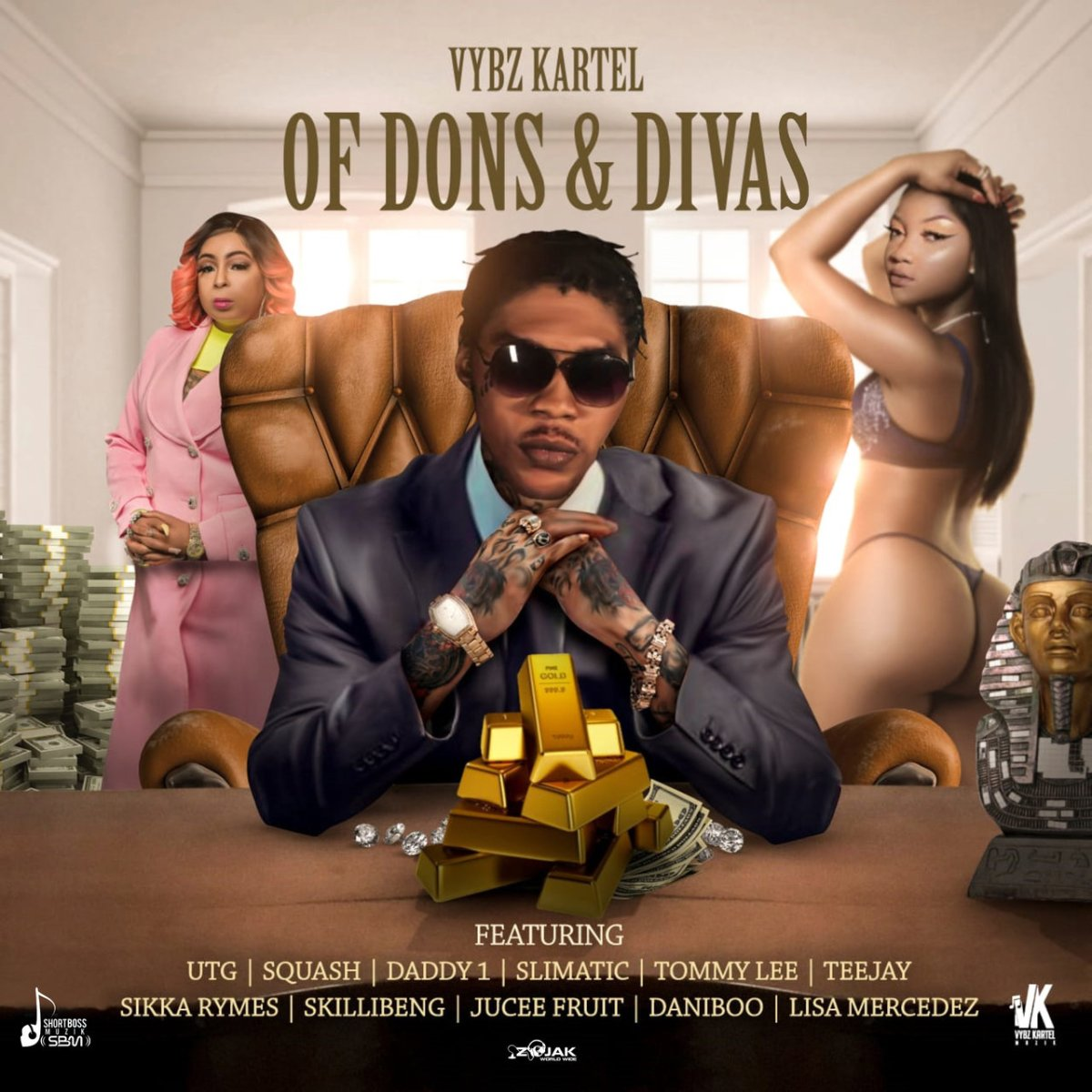 Vybz Kartel - Of Dons And Divas (Cover)