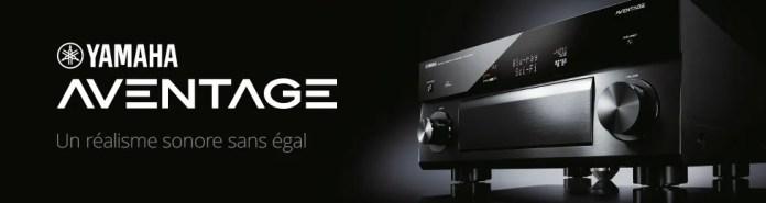 Amplis home-cinéma Yamaha Aventage