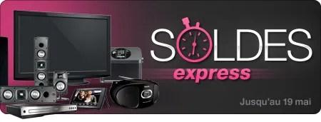 Soldes Express jusqu'au 19 mai 2011 !