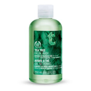 tea tree oil face wash