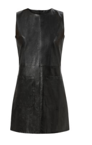 new look leather dress