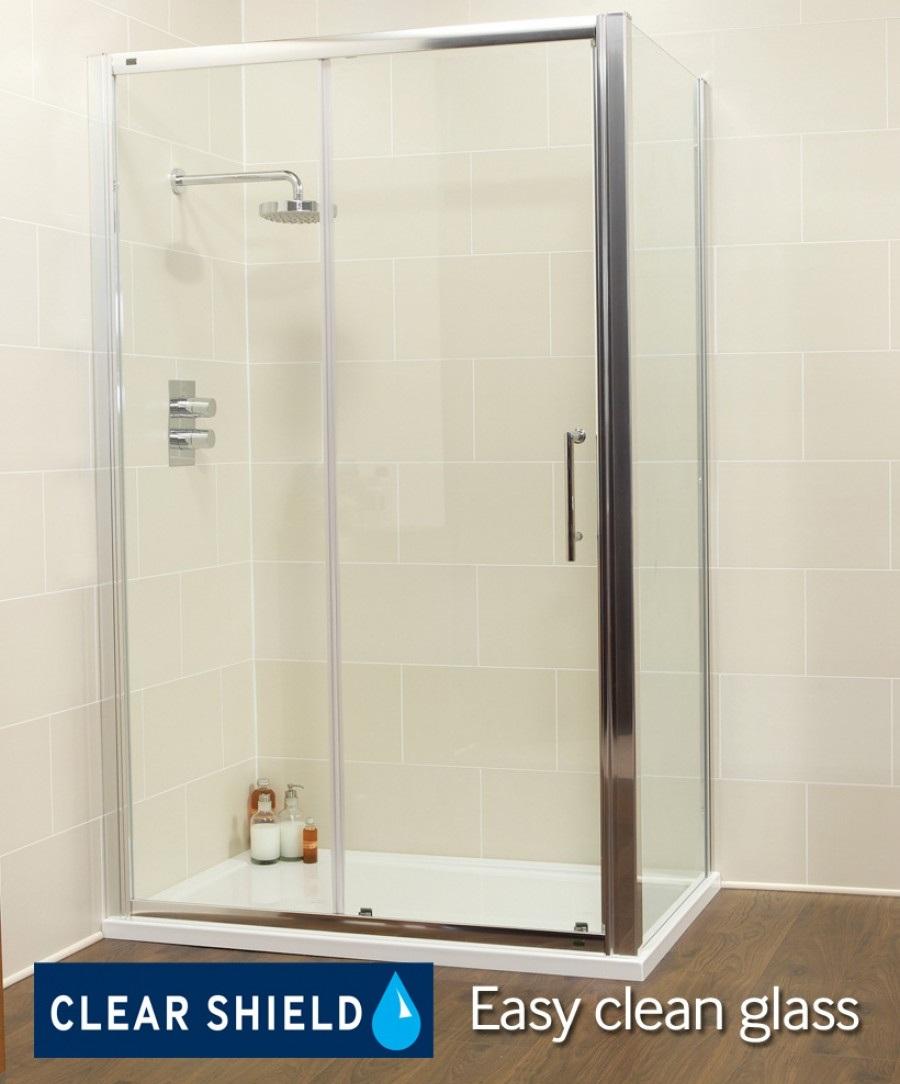 Showerlux Sliding Door Shower Door And Frame Showerlux