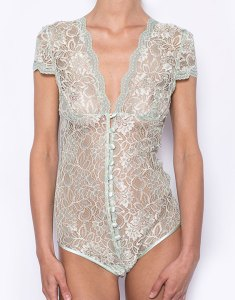 Olive Jade Classic Bodysuit by Sonata London