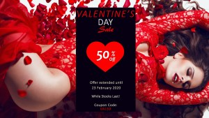 Valentine's Day 50% Off at Sonata London