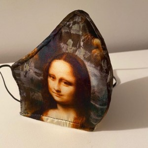 3D Print Mona Lisa Silk Mask