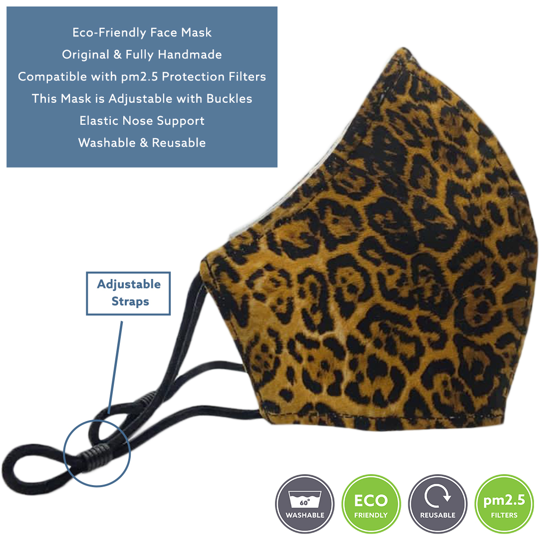 Sonata London Face Mask Leopard Print 3