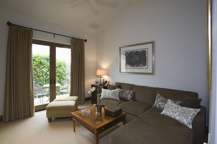 Living Room Staging  Sonrise Services LLC