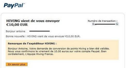 hiving-paiement