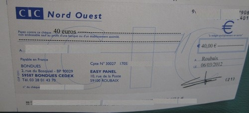 cheque easypanel