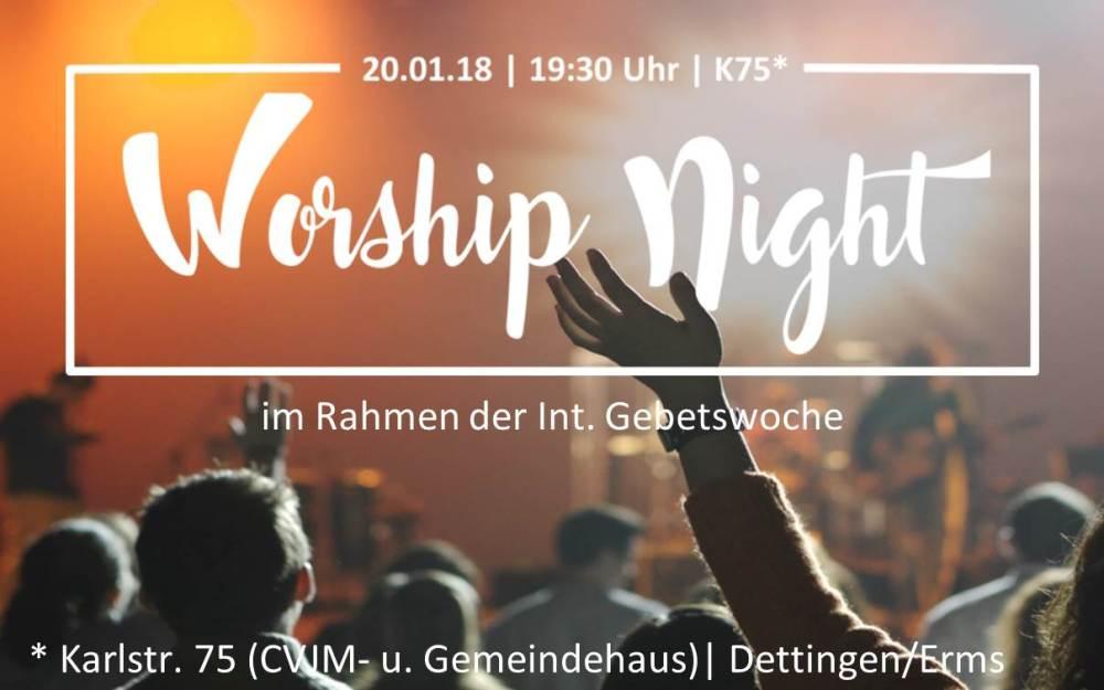 20.1. | Worship Night