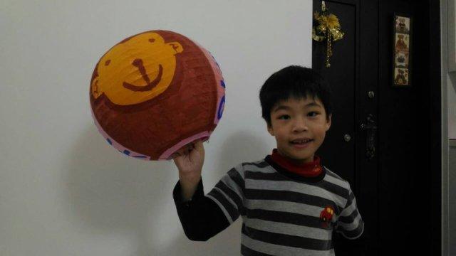 汐止活動 - 兒童彩繪燈籠比賽 蛋糕兄弟-小捷