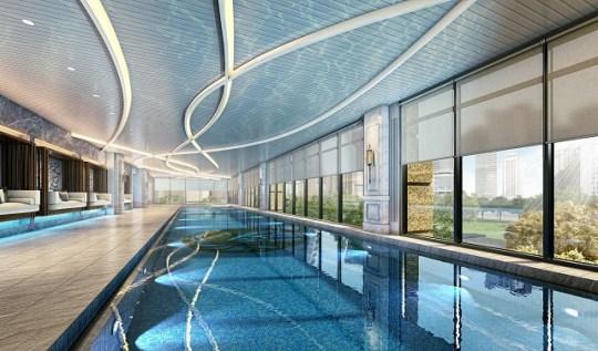 台中買房投資 - 文心匯 Phelps游泳池