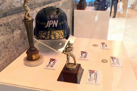 2017棒球文物展覽展示品