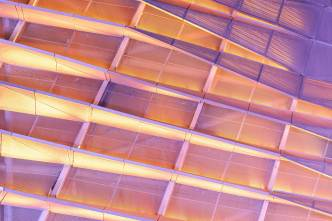 Dalian International Conference Center detail (pink) 3-2 exp