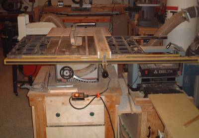 Craftsman Contractor Table Saw Upgrades